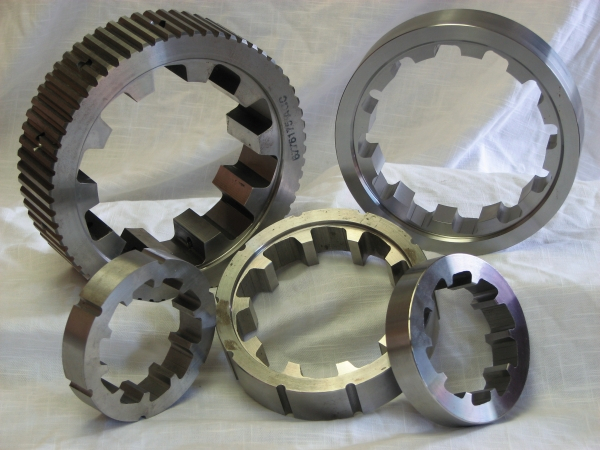 EDM Manufactured Gears and Splines