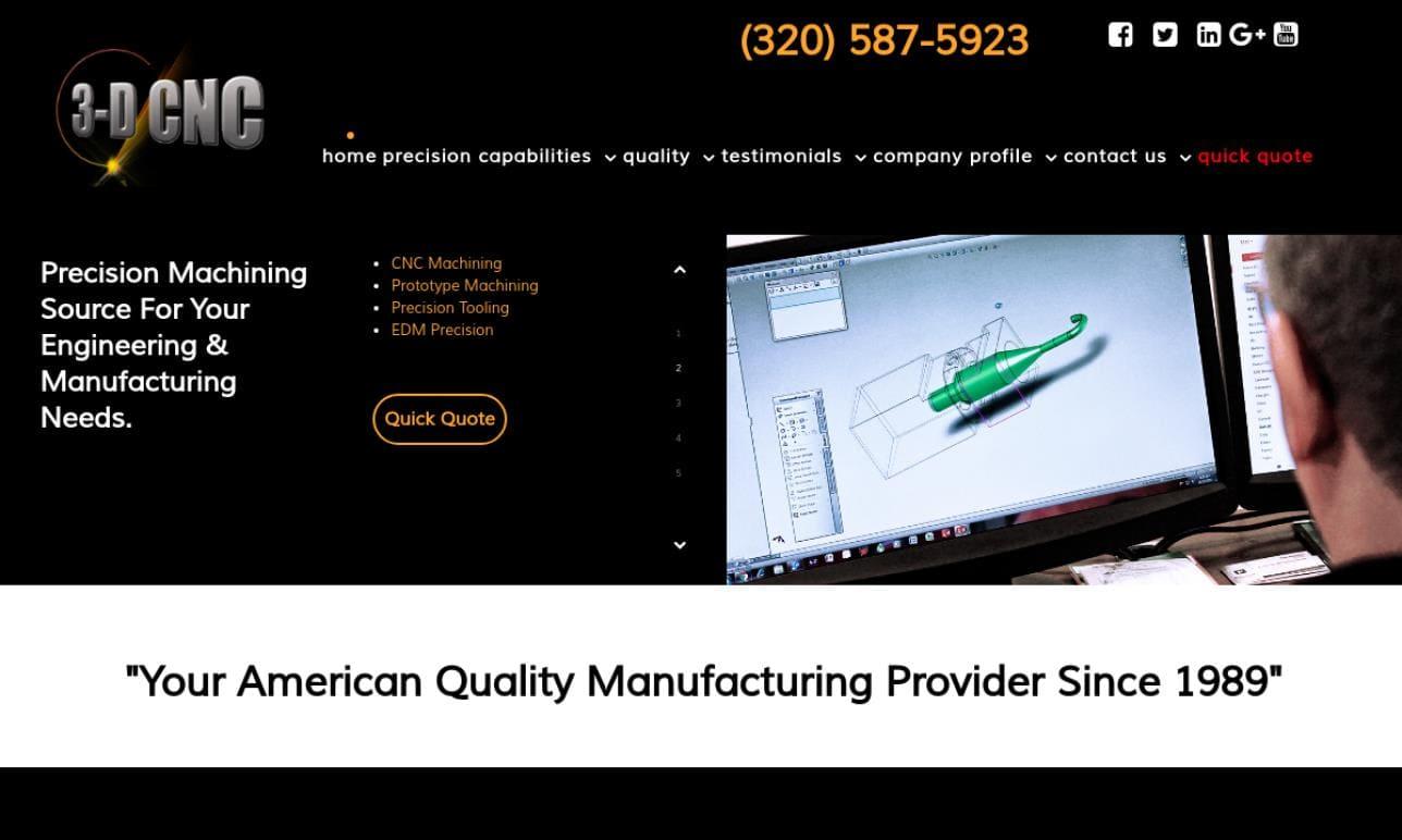 3-D CNC, Inc.