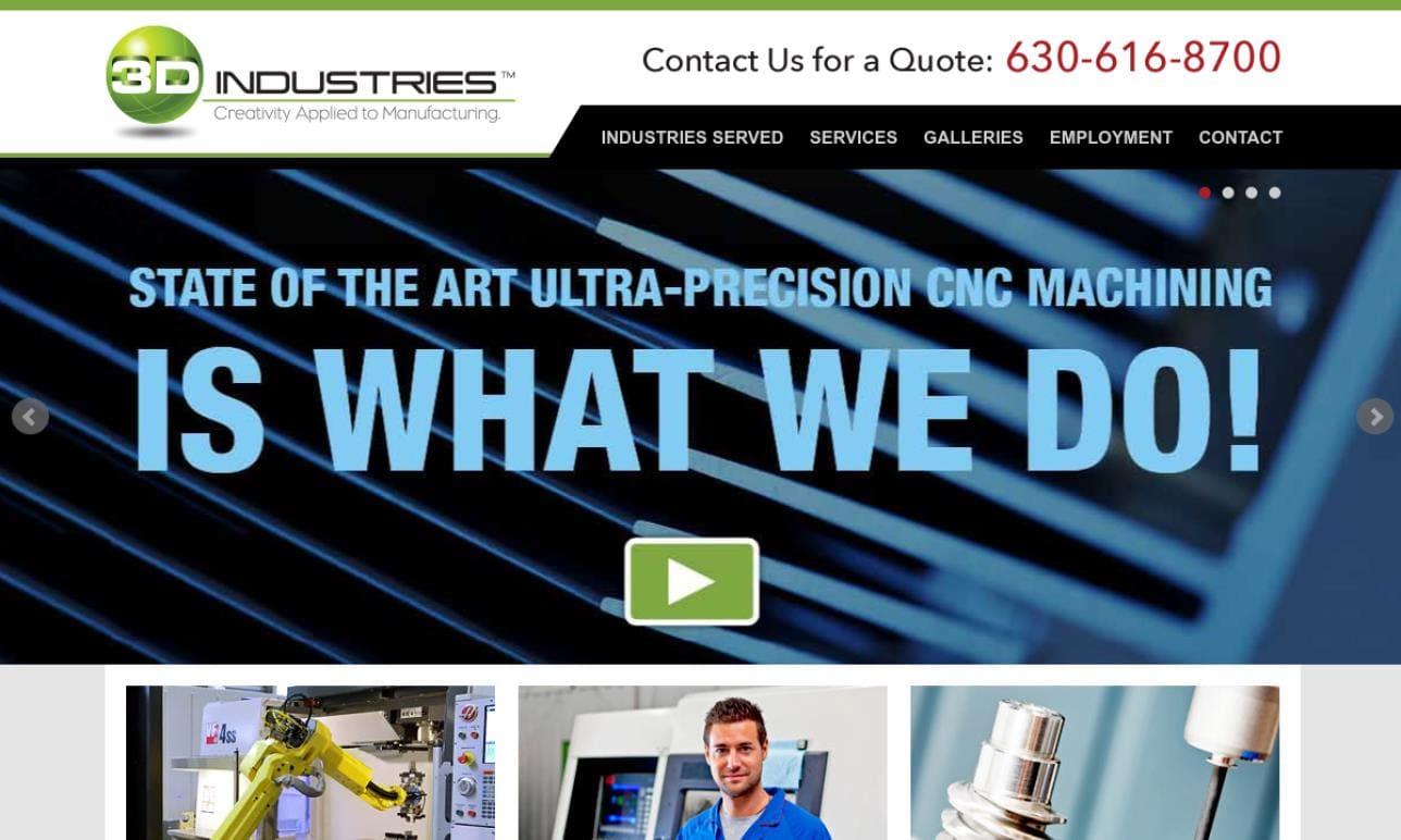 3D Industries, Inc.