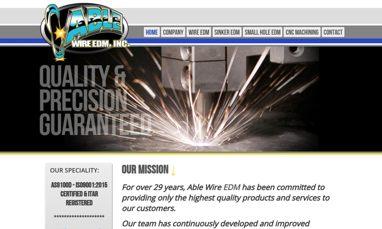Able Wire EDM, Inc.