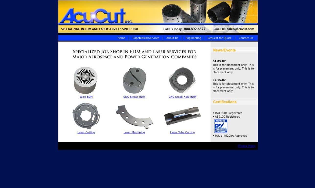 AcuCut, Inc.