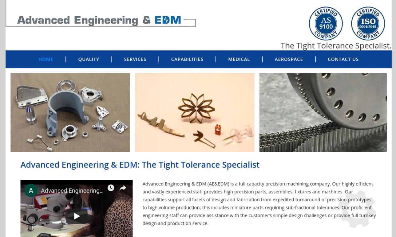 Advanced Engineering & EDM