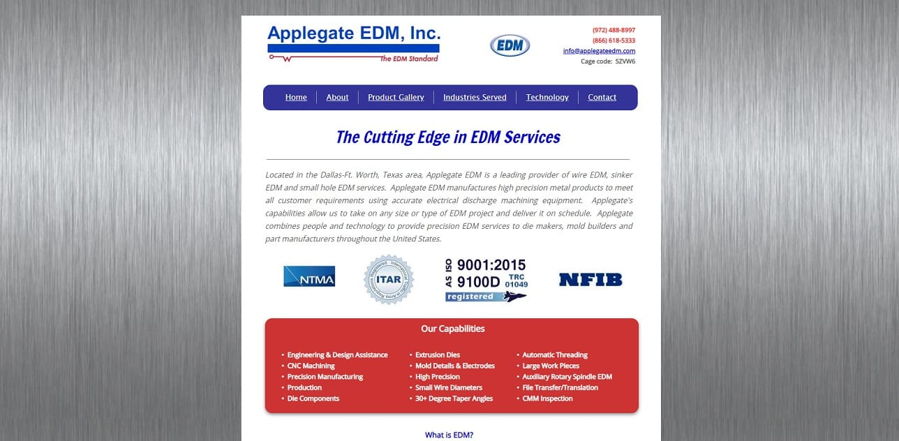 Applegate EDM, Inc.