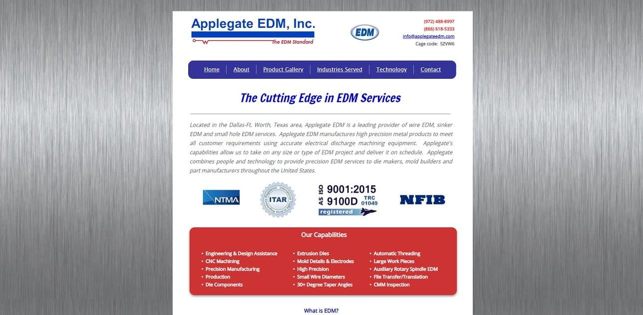 Applegate EDM Inc.