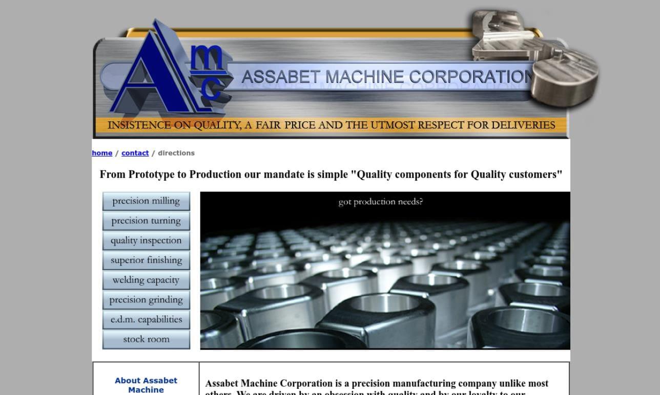 Assabet Machine Corp.