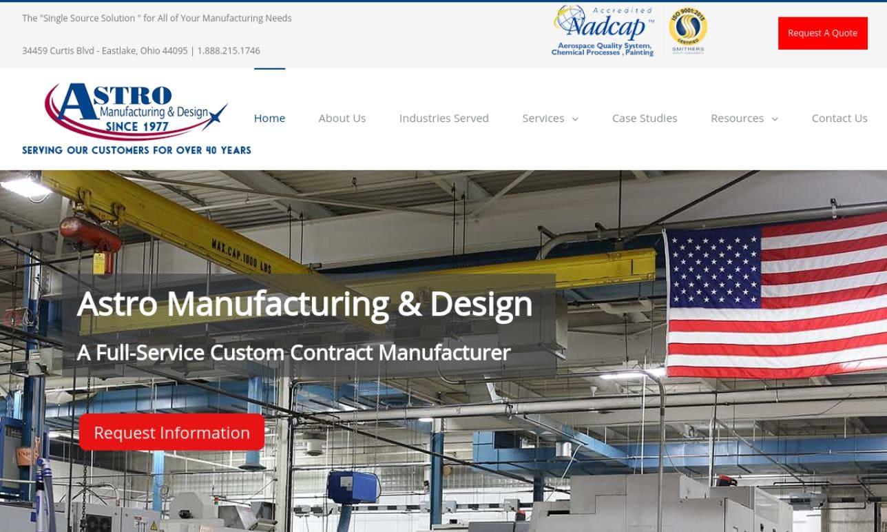 Astro Manufacturing & Design