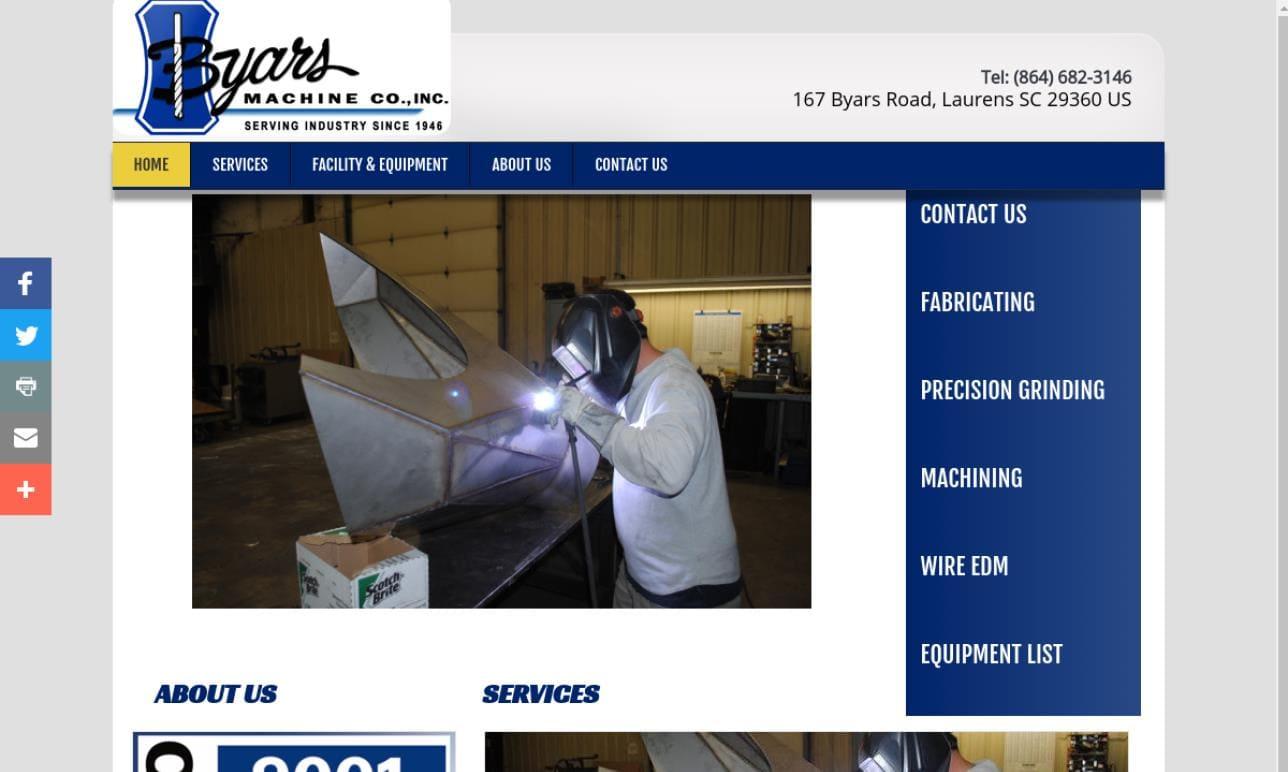 Byars Machine Co., Inc.
