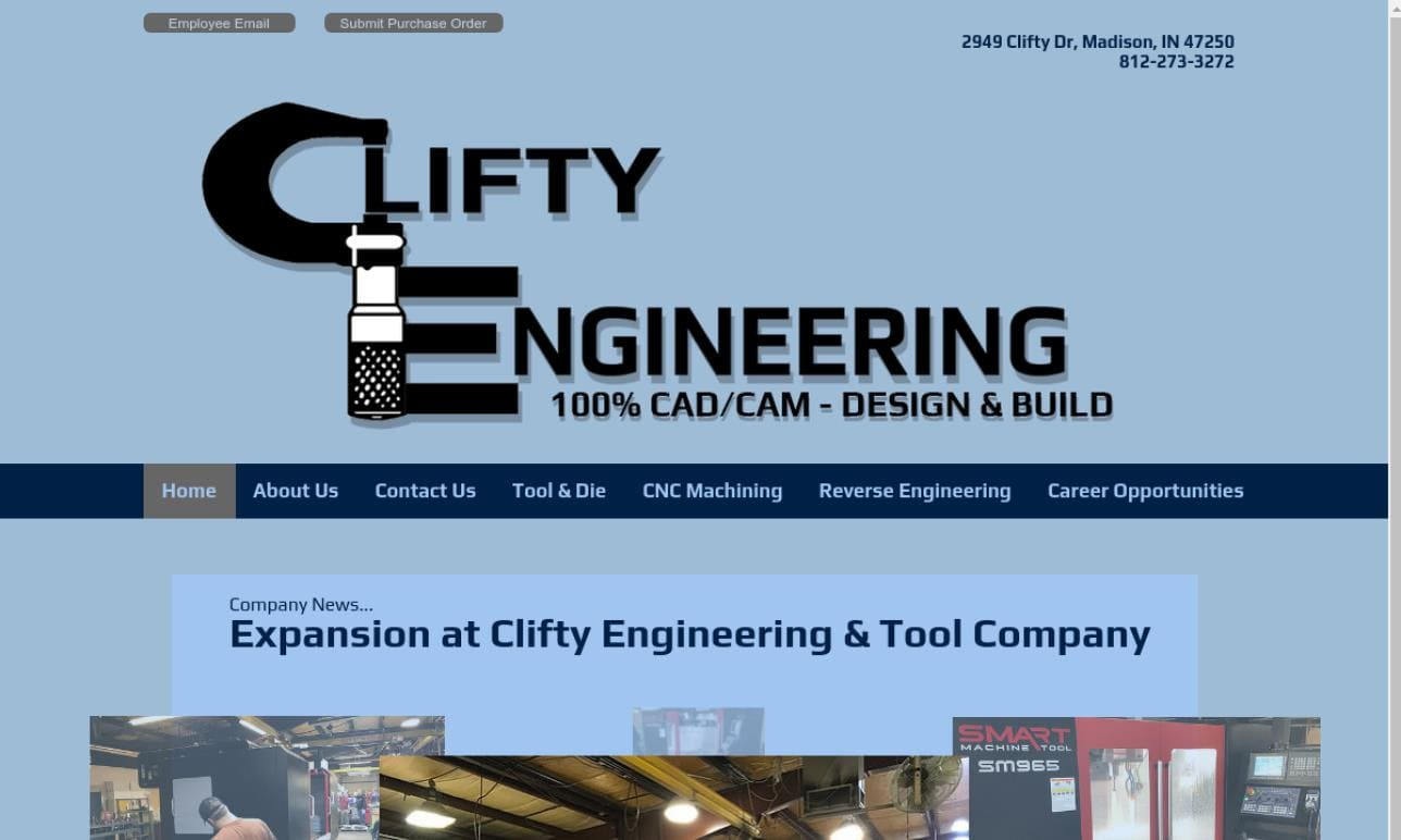 Clifty Engineering & Tool Co.,Inc.