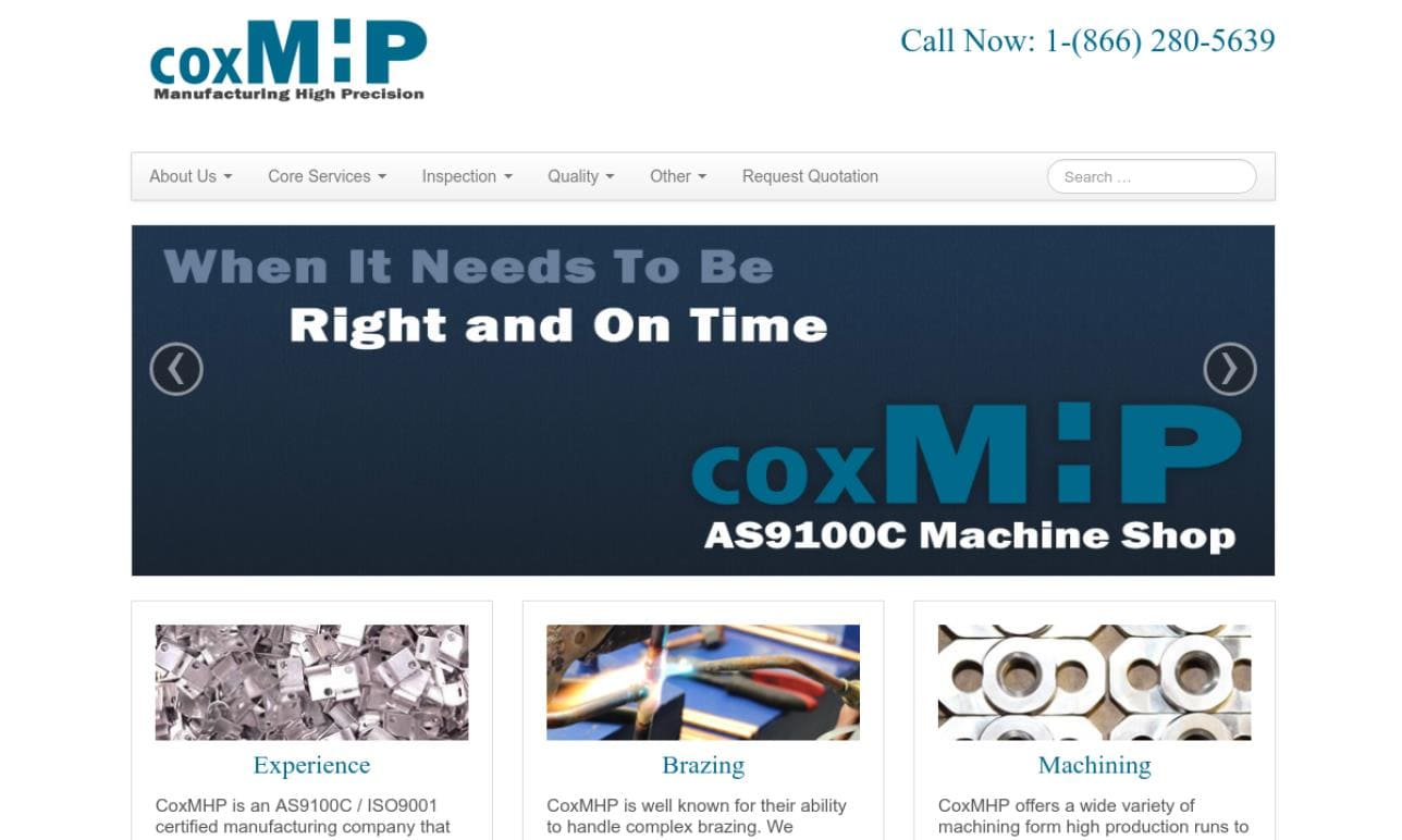 Cox Material Handling Products, Inc.