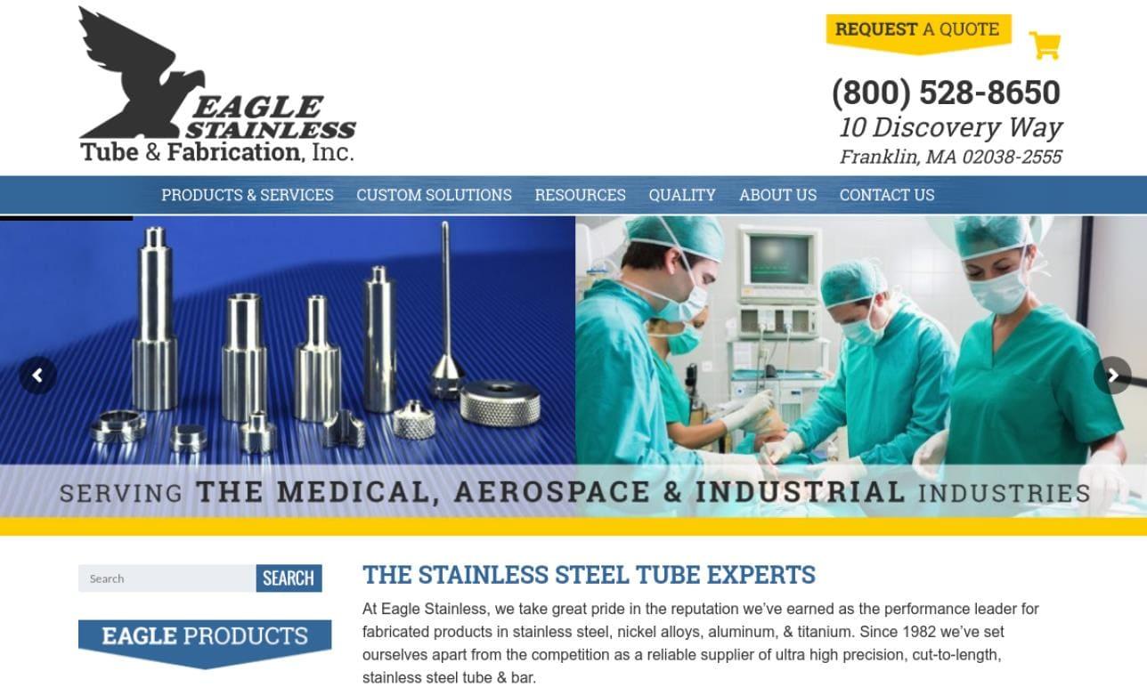 Eagle Stainless Tube & Fabrication, Inc.