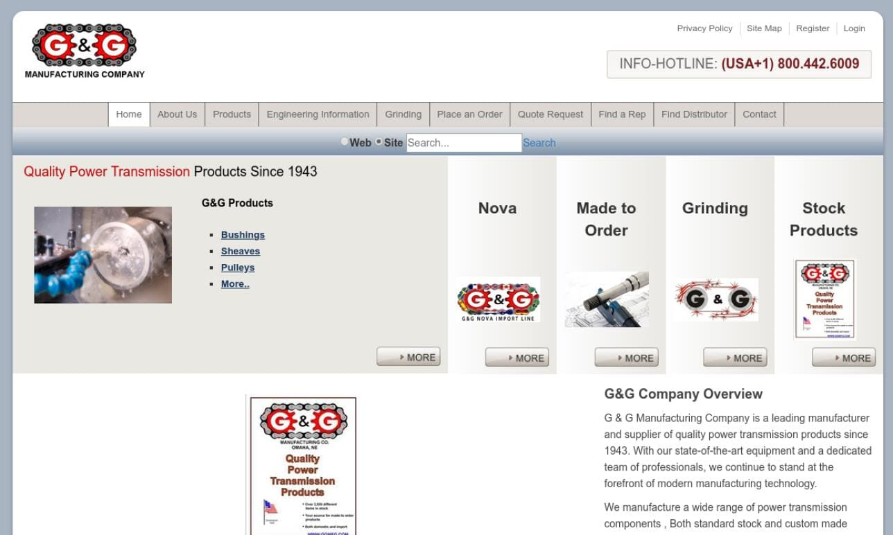 G&G Grinding and Machine, Inc.