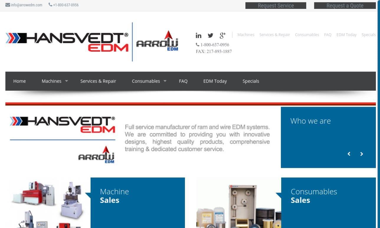 Hansvedt Industries- A Hardinge Co.