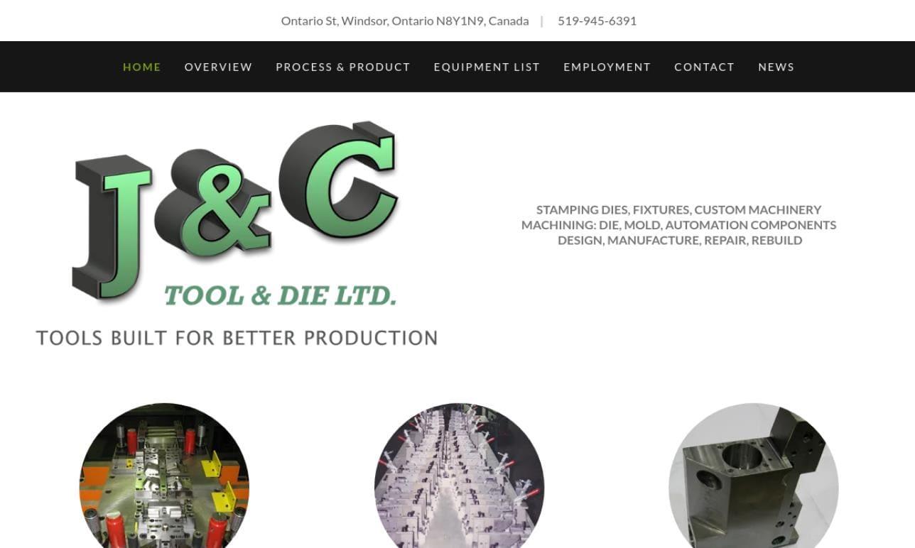 J&C Tool & Die Limited