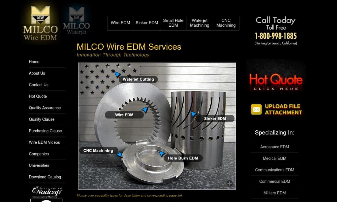 MILCO Wire EDM, Inc.