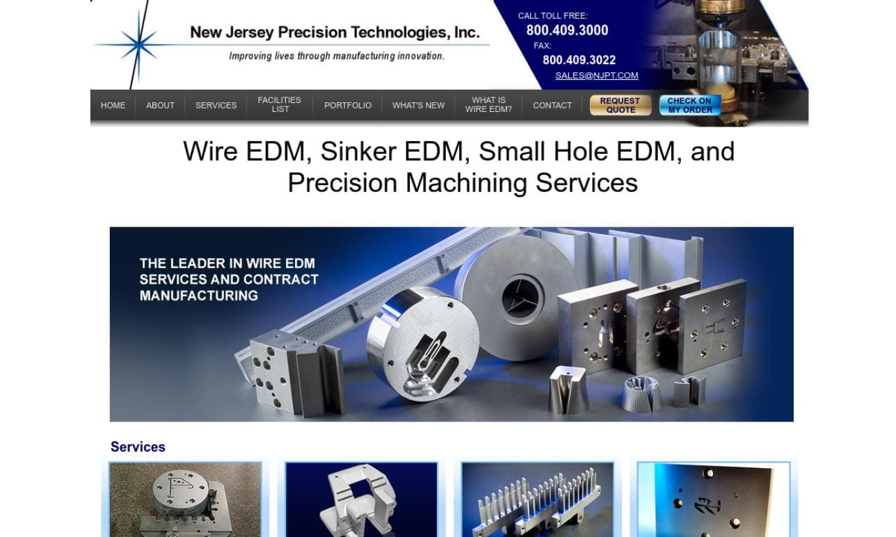 New Jersey Precision Technologies, Inc.