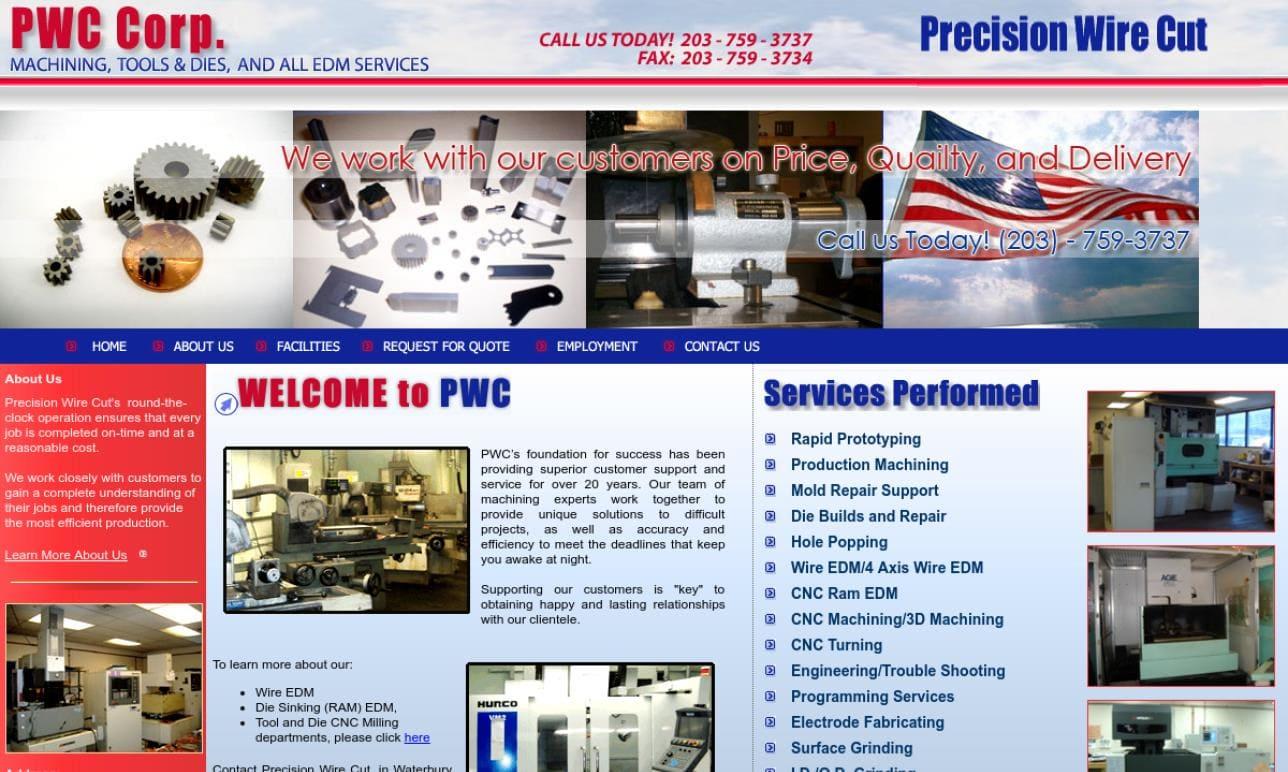 Precision Wire Cut Corp.
