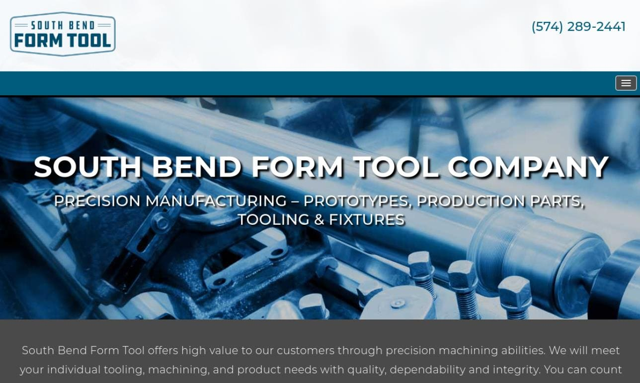 South Bend Form Tool Co., Inc.