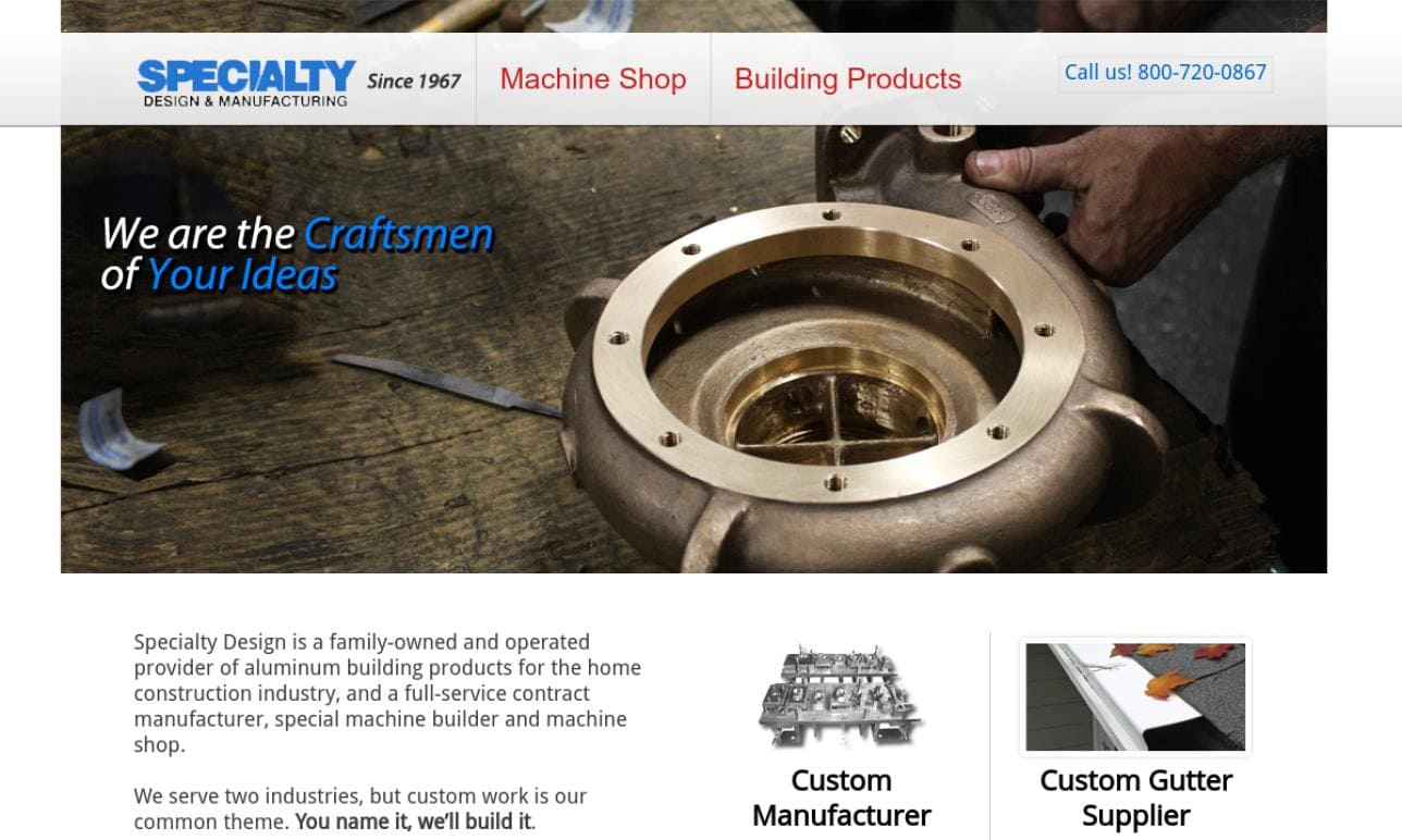 Specialty Design & Manufacturing