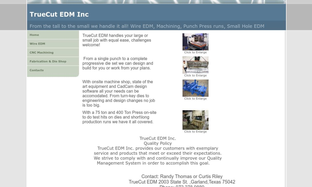 TrueCut EDM Inc.