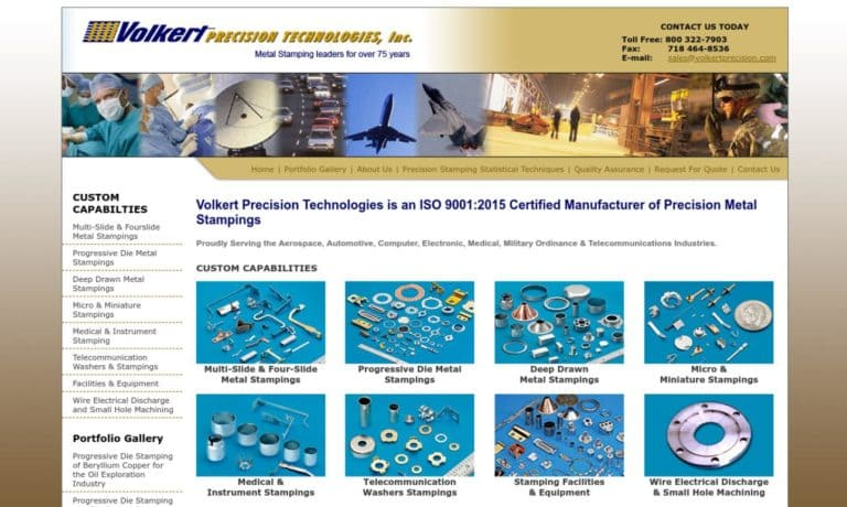 Volkert Precision Technologies, Inc.