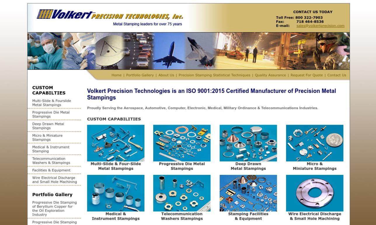 Volkert Precision Technologies, Inc.