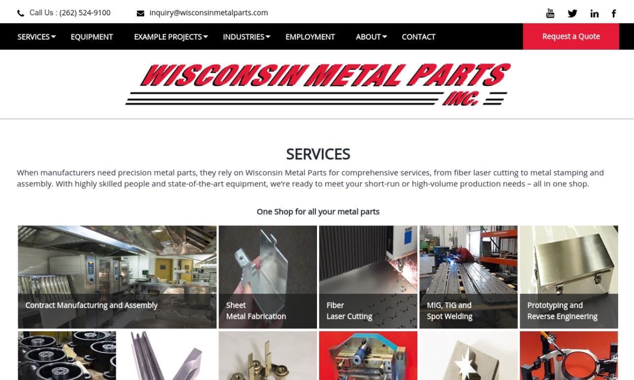 Wisconsin Metal Parts, Inc.