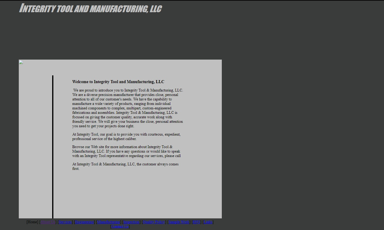 Integrity Tool & Manufacturing, LLC