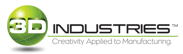 3D Industries, Inc. Logo