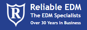 Reliable EDM, Inc. Logo
